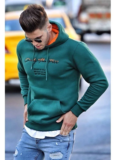 Madmext Sweatshirt Yeşil